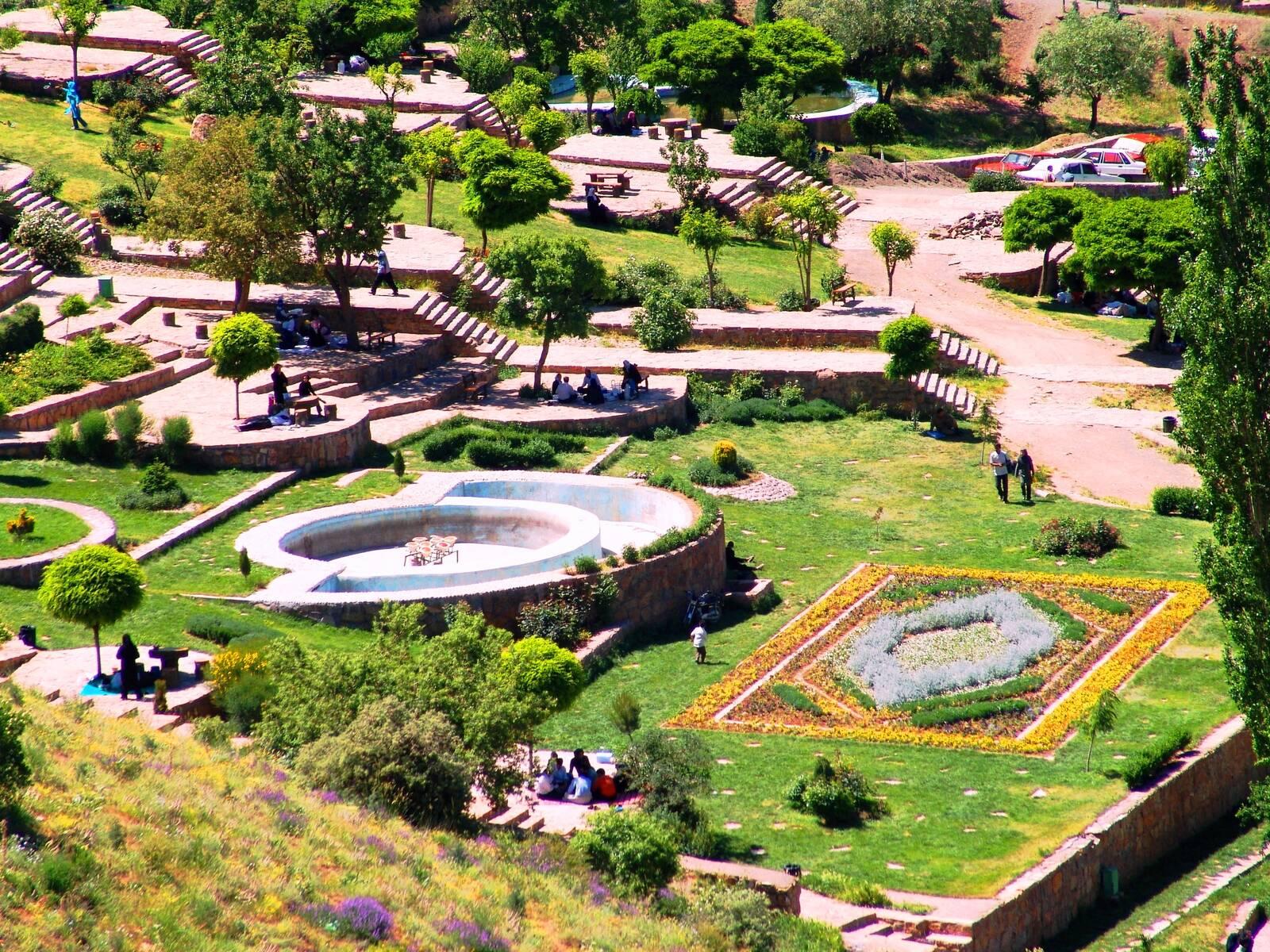 پارک جنگلی آبیدر ،جاذبه های گردشگری استان کردستان