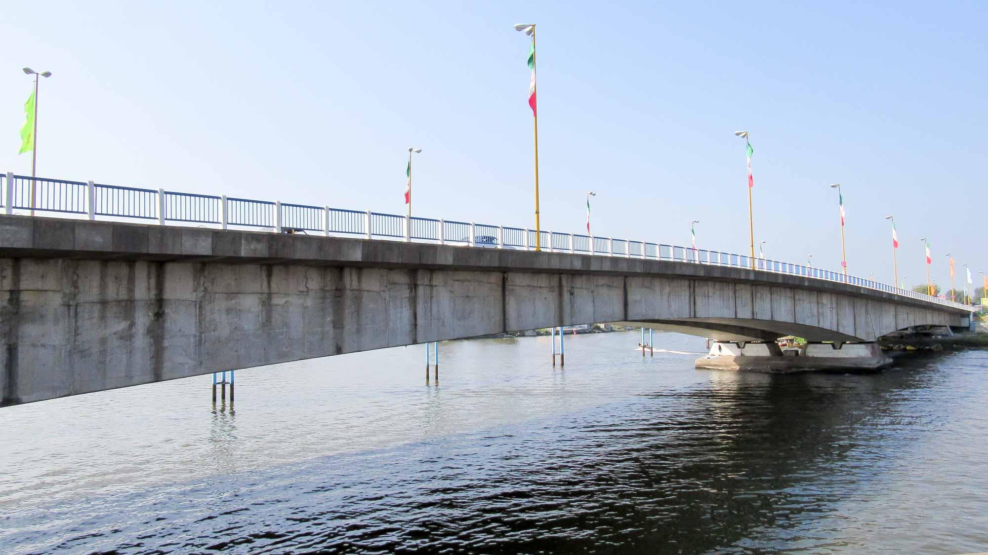 پل های بندر انزلی