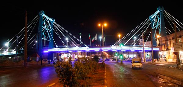 پل کابلی ،جاذبه های گردشگری آبادان