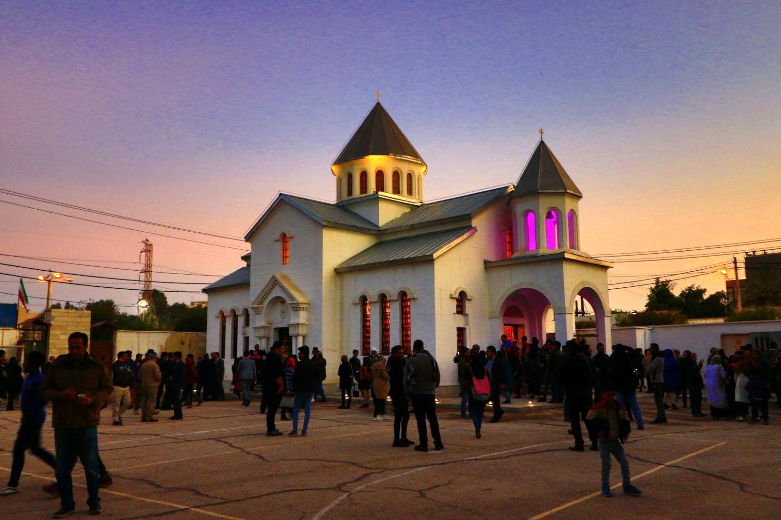 کلیسای ارامنه ،جاذبه های گردشگری آبادان