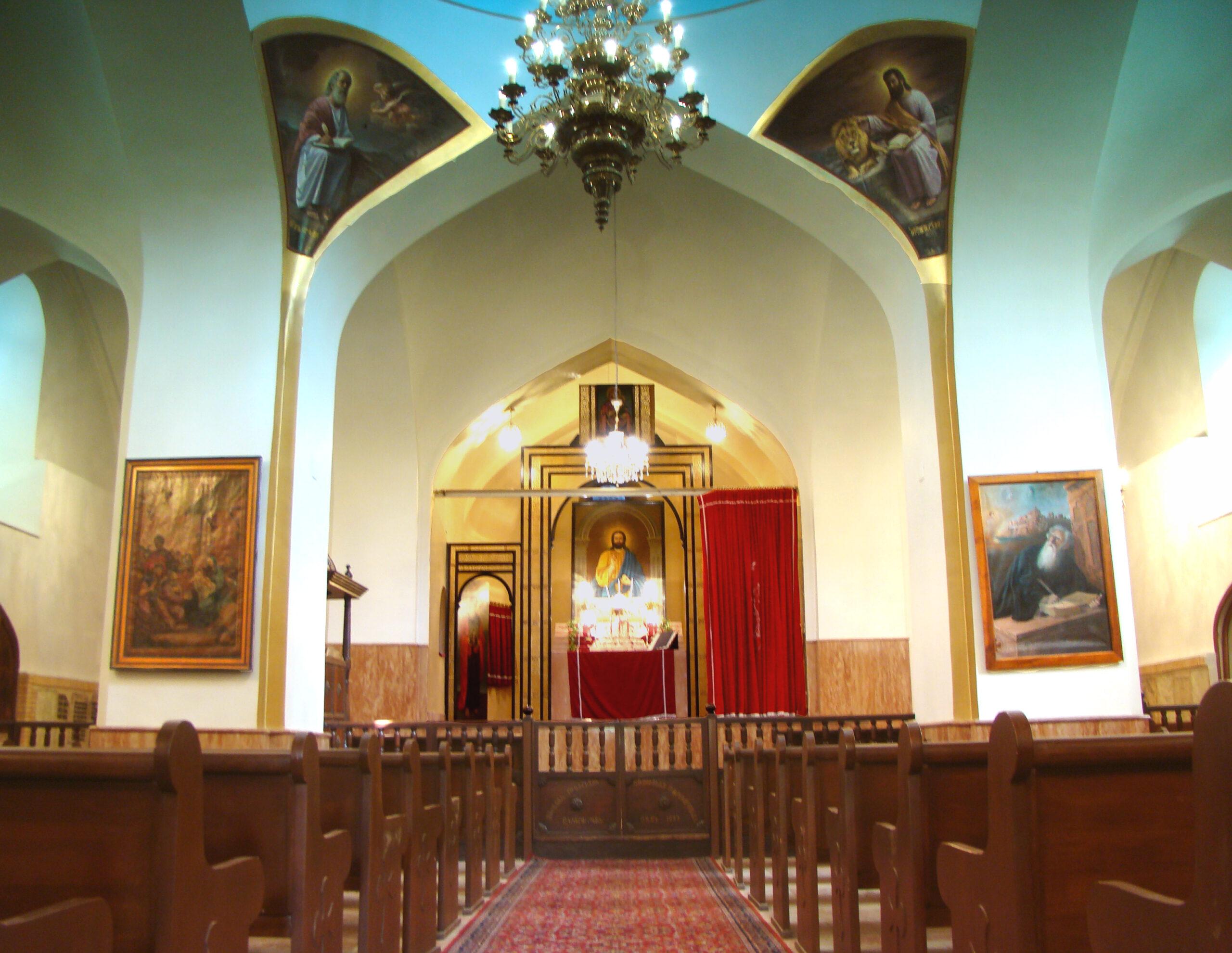 کلیسای استفانوس مقدس ،جاذبه های گردشگری تبریز