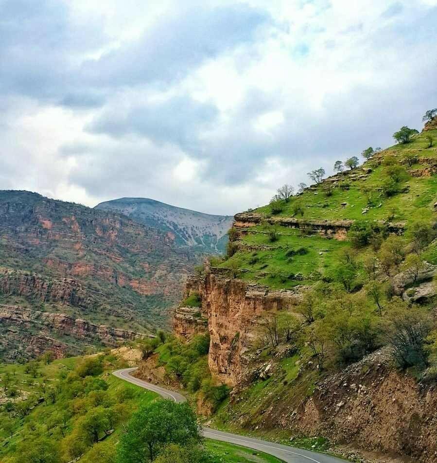 جاهای دیدنی شهر پاوه | منطقه محافظت شده بوزین و مرخیل
