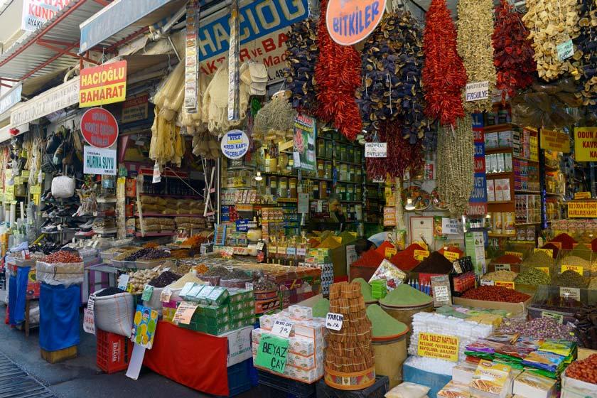 بازار سنتی کمرالتی ازمیر ترکیه