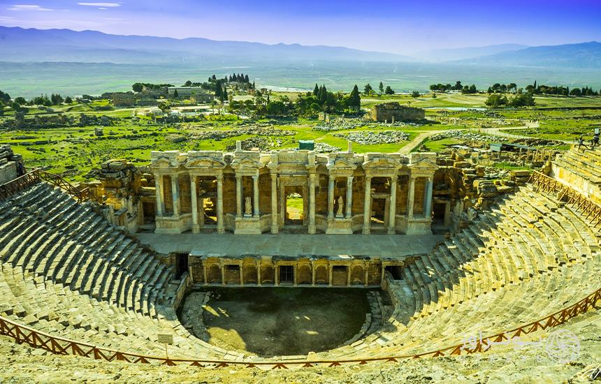تئاتر هیراپولیس ازمیر ترکیه