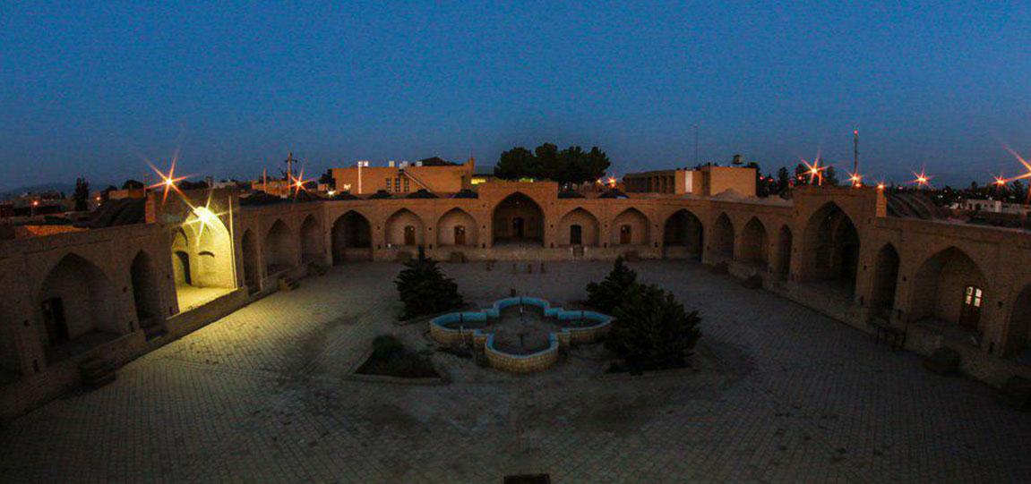 کاروان سرای ابوزید آباد | کاشان