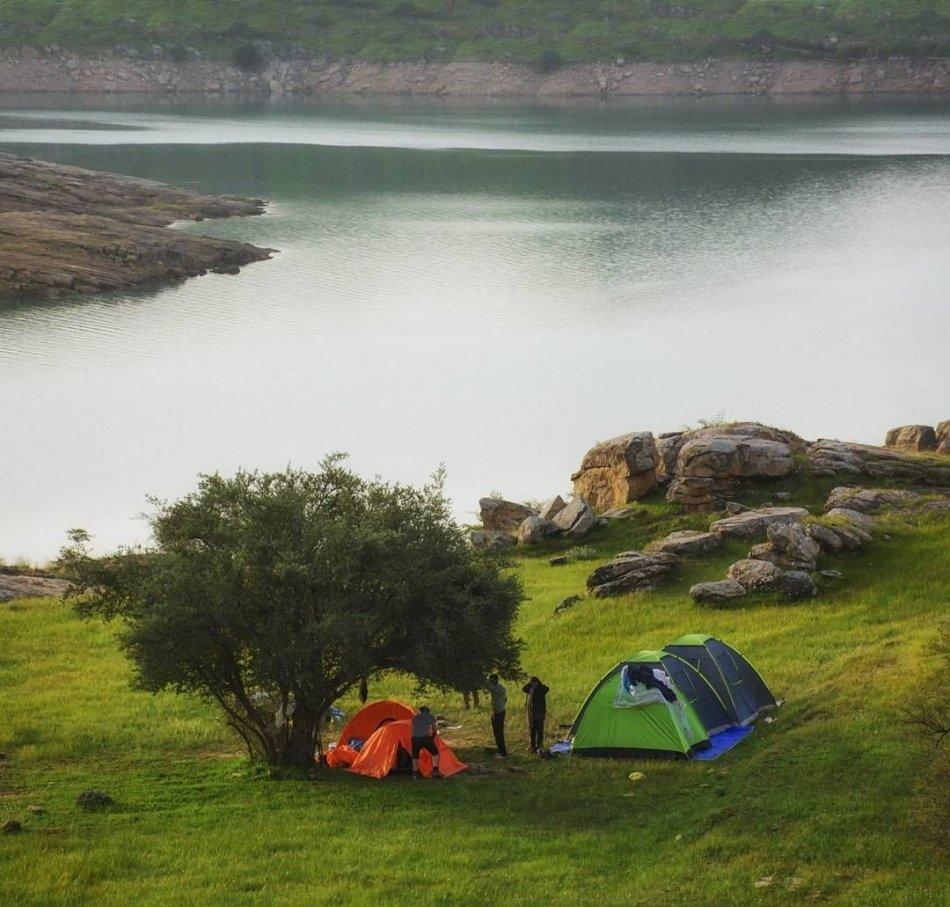 دریاچه شهیون | دریاچه سد دز