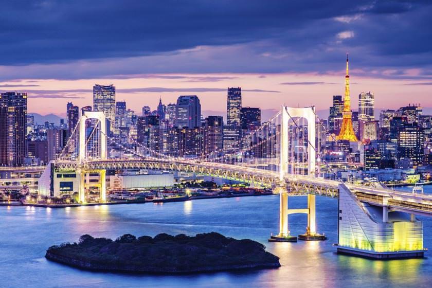 پل رنگین کمان توکیو (Rainbow Bridge)