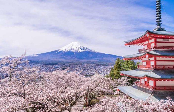 کوه فوجی (Mount Fuji)
