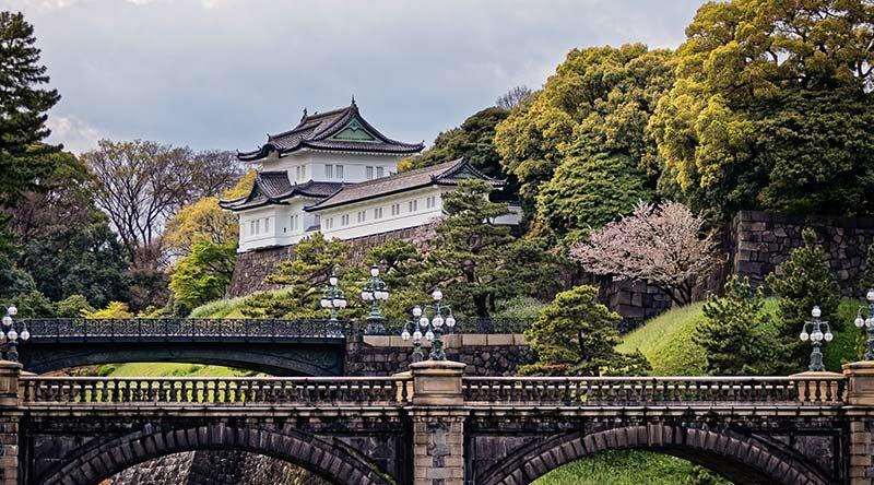 کاخ امپراتوری، توکیو