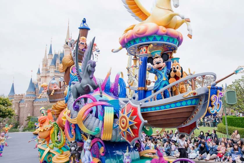دیزنی لند توکیو (Tokyo Disneyland)