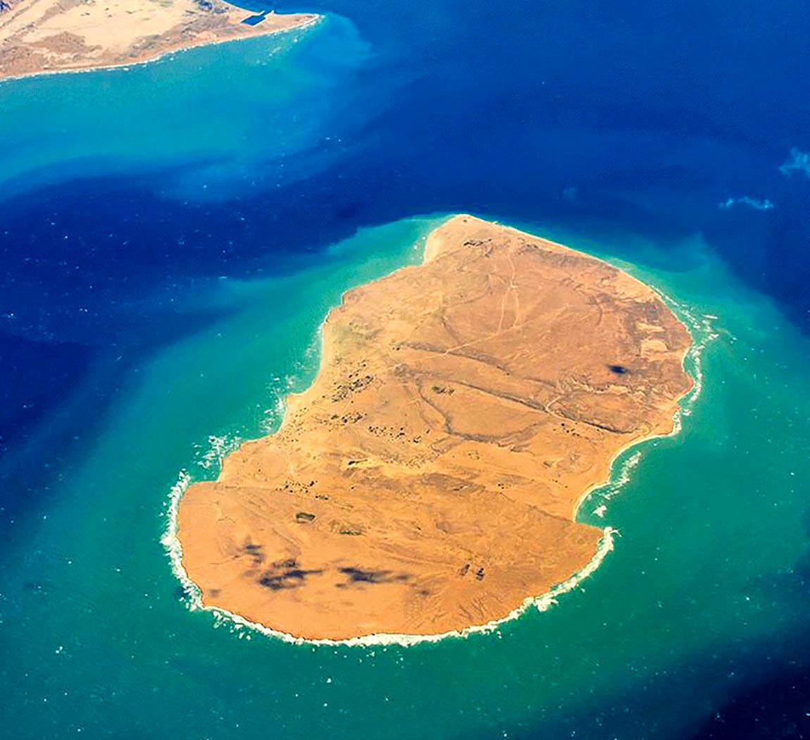 جزیره هی هندورابی خلیج همیشه فارس
