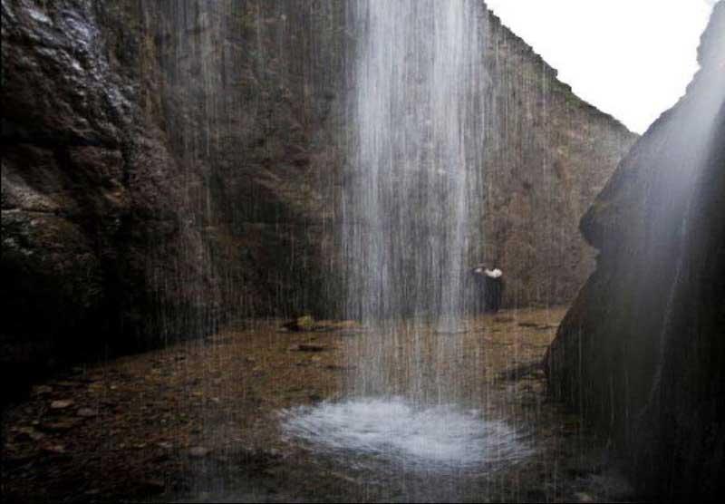 آبشار ورسک | روستای ورسک