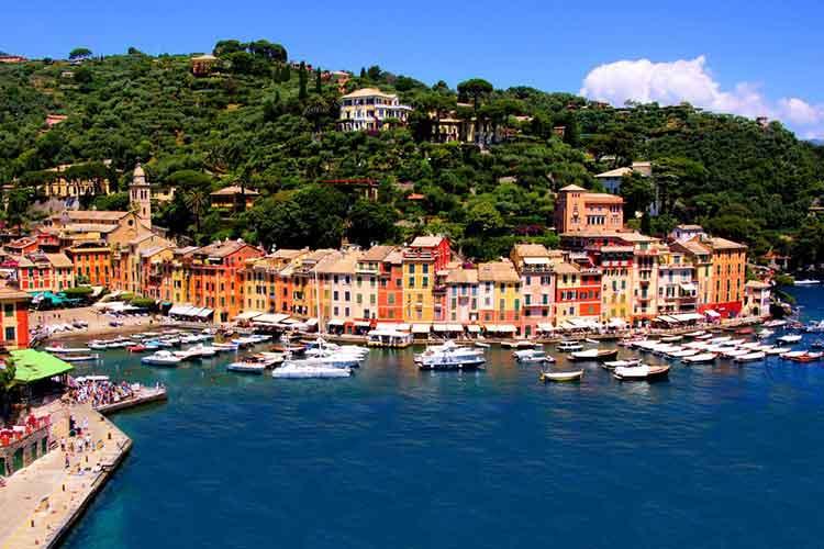 بندر پورتوفینو ایتالیا