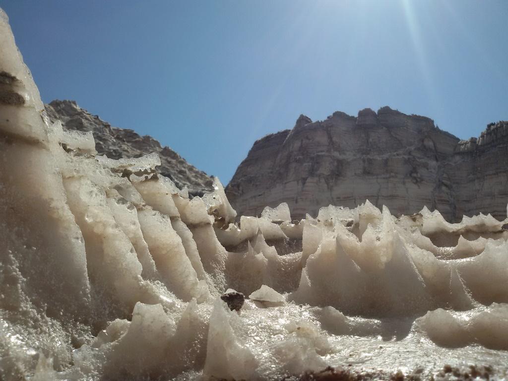 کوه نمک جاشک | گنبد نمک جاشک