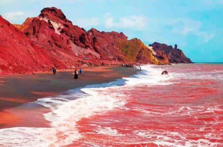 ساحل سرخ هرمز | Red Beach