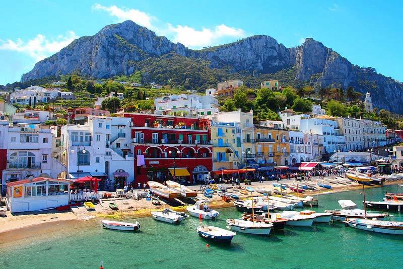 مارینا پیکولا   جزیره کاپری ایتالیا