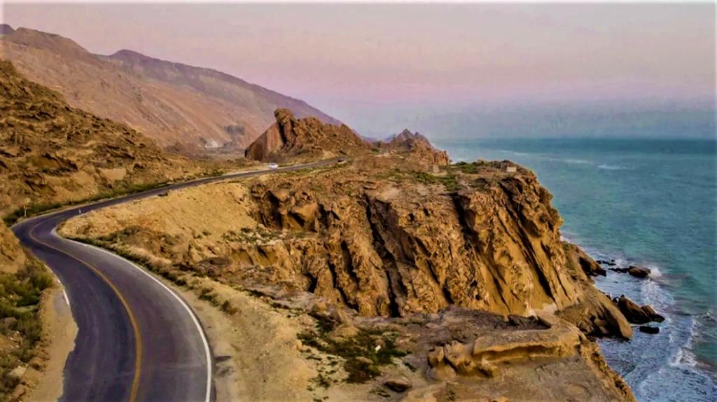 جاده ساحلی بندر مقام