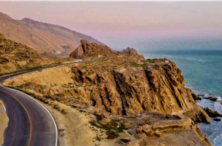 جاده ساحلی بندر مقام ، مسیری برای عشاق